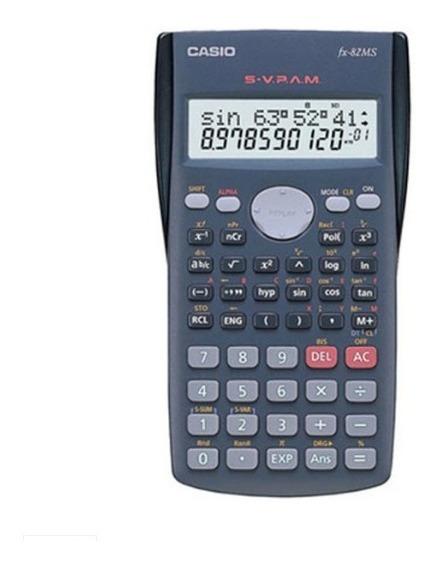 Calculadora Eletrônica Científica 240 Funções 10+2 Dígitos C