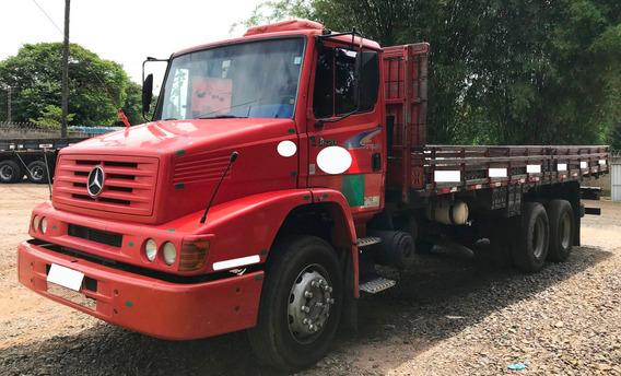 Mb-1620 - 6x2- 2004/2004- Carroceria - Vermelho - Filé