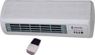 Caloventor Crivel Cvp-15 De Pared 2000 Watts Center Hogar