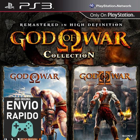 God Of War Collection Hd Inclui 1 E 2 Jogos Ps3 Original