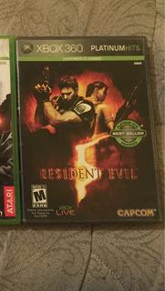 Juego De Xbox 360, Resident Evil 5