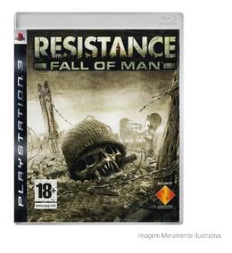 Resistance: Fall Of Man - Ps3 - Mídia Física