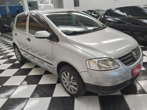 Volkswagen Fox Plus 1.6 Flex 2008 Completo+bancos De Couro