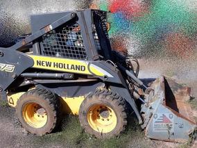 Mini Carregadeira New Holland L175 - Ano 2008 - Bem Cuidada