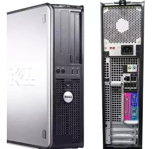 Cpu Dell Core 2 Duo 4gb Hd 500+ Monitor 19 Teclado E Mouse