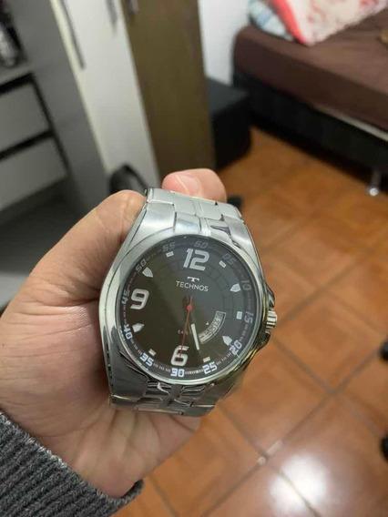 Relógio Technos Prata - Racer 2115ksw