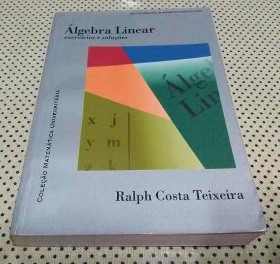 Livro Álgebra Linear - Coleção Matemática Universitária