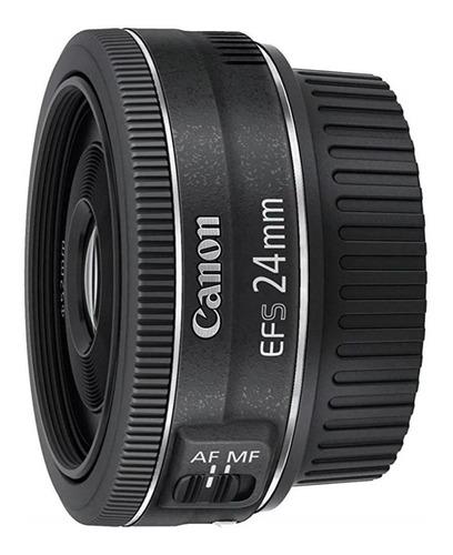 Canon Lente Ef-s 24mm F/2.8 Stm Lacrada Com Nota Fiscal