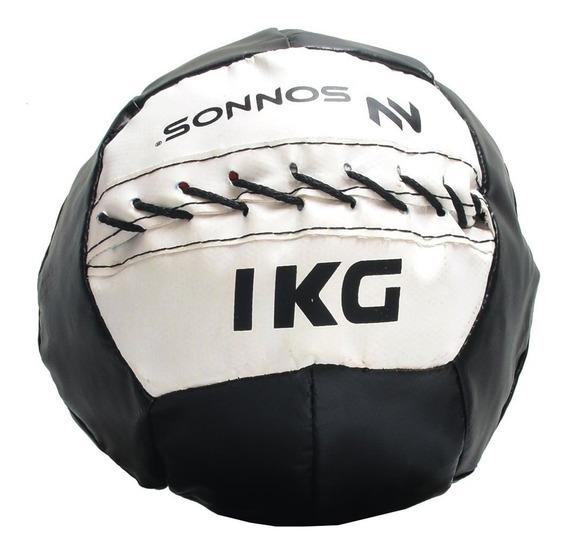 Medicine Ball Mini Pelota Medicinal Con Peso 1 Kg