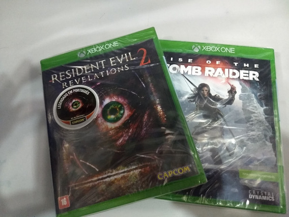 Tomb Raider Rise + Resident Revelations 2 Xbox One Físicas