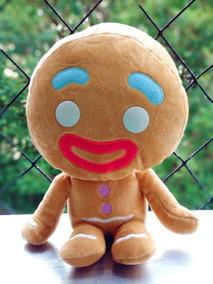 Homem Biscoito 23cm - Boneco De Doce Shrek *pronta Entrega*