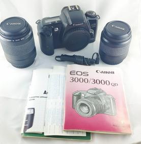 Canon Reflex, Eos 3000 De 1999, 2 Obj. Controle Remoto