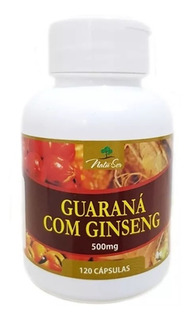 Ginseng C/ Guarana 360 Capsulas-natuser 100% Original 500 Mg