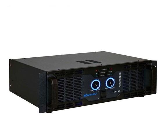 Amplificador De Potência Oneal Olp 4.602 1300w Rms