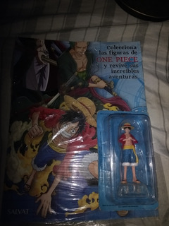 One Piece Colección Salvat N°1 Luffy Figura+ Revista