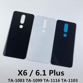 Tampa Traseira Vidro Nokia X6 Plus