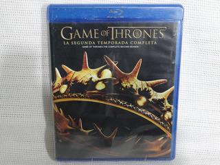 Game Of Thrones Juego De Tronos Temporada 2 Bluray
