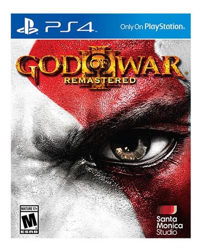 Imagen 1 de 1 de God Of War 3 Remasterizado - Ps4 Fisico Nuevo & Sellado