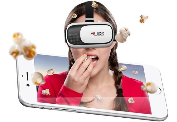 Lentes Realidad Virtual 3d Android iPhone Vr Box 2.0