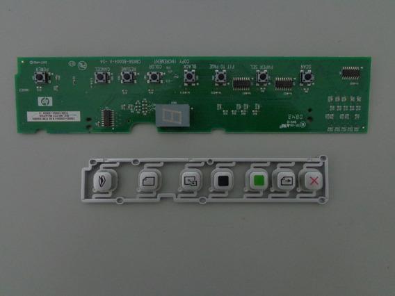 Placa Teclado De Funções - Impressora Hp Cb656-64001