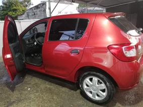 Renault Sandero Authentique A.a. Rojo Fuego