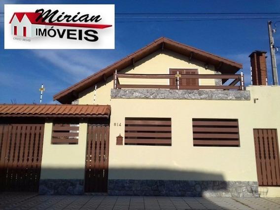 Casa Para Venda - Sobrado Bem Localizado Ribamar, Peruibe 3 Dormitórios Sendo 1 Suíte, 1 Sala, 2 Banheiros, 4 Vagas 136,00 Construída, 190,00 Útil, 190,00 Total - Ca00904 - 4685498