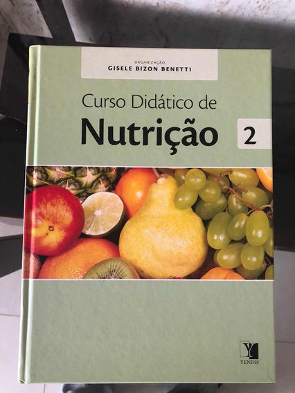Curso Didático De Nutrição - Livros 1, 2 E 3.