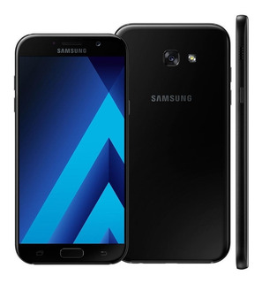Samsung Galaxy A7 2017 Duos Preto A720f/ds 32gb Vitrine