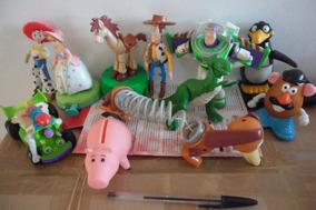 Toy Story Wood Buzz Jessie Slinky Dog Pastora Rc Rex