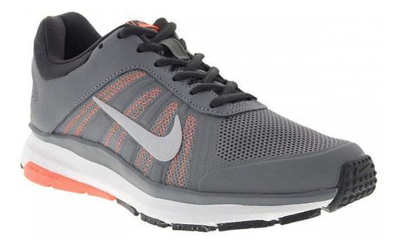 Tênis Nike Dart 12 Msl Cinza, Branco E Laranja