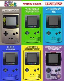 N O V O Zero Game Boy Color Original Oem Nintendo Frete Pago