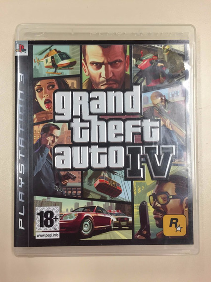 Gta 4 - Gta Iv - Jogo Ps3 - Playstation 3 - Original