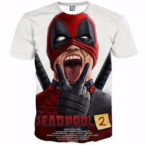 Playera Deadpool 2 Superheroes Comics Poliéster