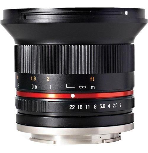 Rokinon 12mm F/2.0 Ncs Cs Lens For Sony E-mount (black)