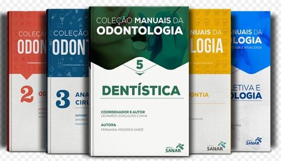 Livro Concurso E Residência Em Odontologia Vol 1, 2, 3, 4, 5