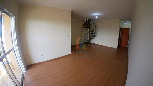Imagem 1 de 28 de Cobertura Com 3 Dormitórios À Venda, 224 M² Por R$ 650.000,00 - Loteamento Remanso Campineiro - Hortolândia/sp - Co0004