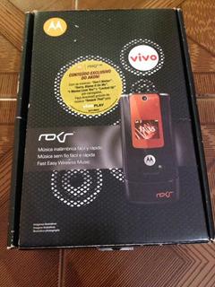 Celular Motorola Moto Rokr W5 2008 Branco Leia Descrição