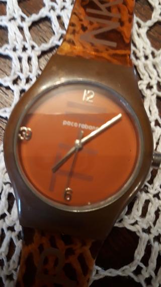 Relógio Paco Rabanne Original, Unissex, Modelo Xs.