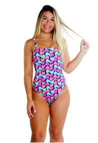Kit 2 Body Feminino Manga Curta Estampado Blusa Collant