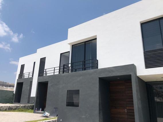 Amplia Casa Nueva En Privada Zibata Queretaro