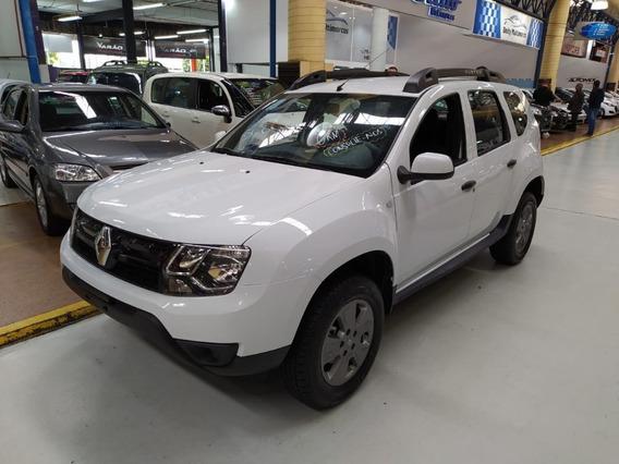 Renault Duster 1.6 Flex Branca 2019 (0 Km + Completa)