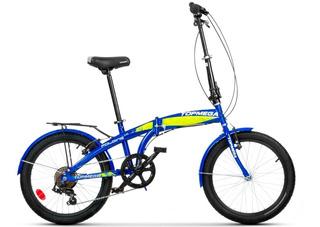 Bicicleta Plegable Top Mega Folding R20 7v + Linga Fas Bikes