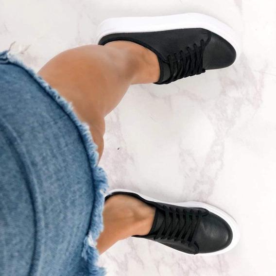 Zapatillas Zapas Zuecos Suecos Con Cordones Súper Cómodas