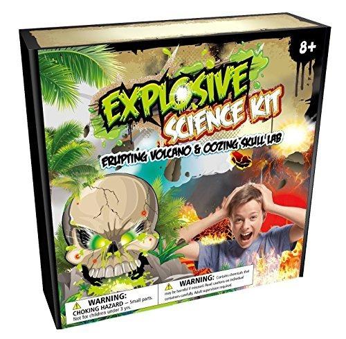 Kit De Ciencia Explosiva: Volcán En Erupción Listo Para Usar