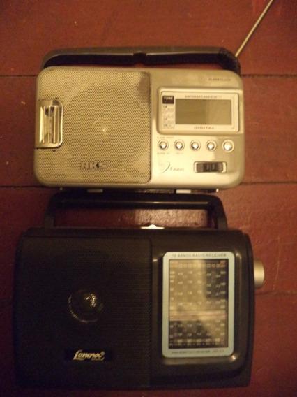 Lote De Rádios Antigos/rádios Portáteis/rádio Transistor