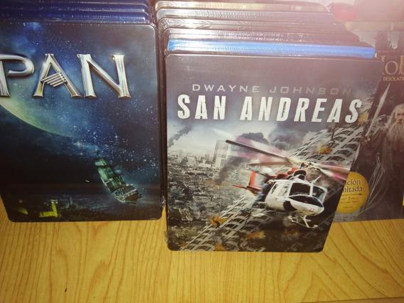 San Andreas La Falla De San Andrés Steelbook