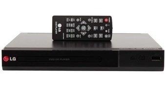 Reproductor Dvd Lg Dp132 Usb-negro + Envío Gratis