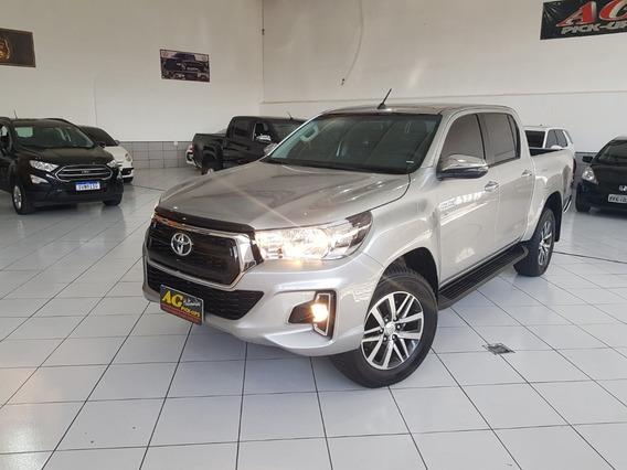 Toyota Hilux Srv 4x2 Automática 2020 Único Dono Só 1.400 Kms
