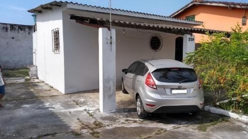 Casa No Balneário Gaivota, Em Itanhaém, Ref. C2273 L C