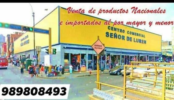 Vendo Stand En Centro Comercial Señor De Luren Centro Lima